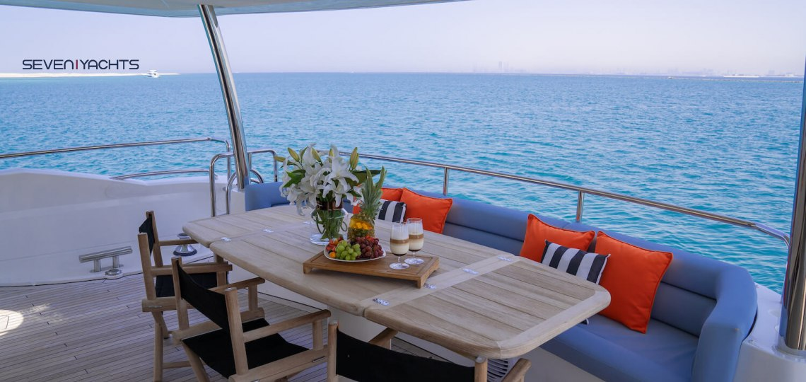 Luxury Notorious Yacht Charter 8