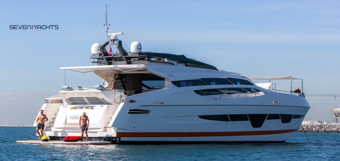 Dolce Vita Yacht Rental 1