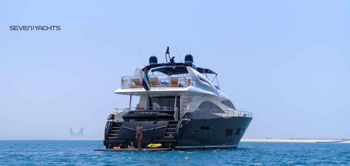 Luxury Notorious Yacht Charter 3