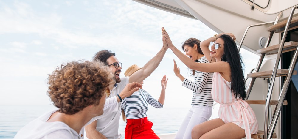 A Party on a Luxury Yacht is the Way to Go