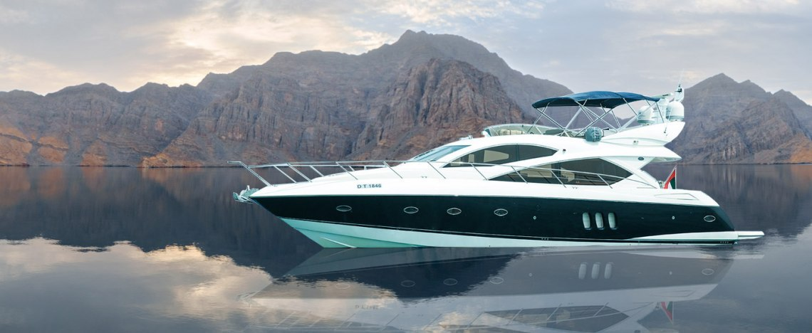 Yacht rental from Dubai to Oman