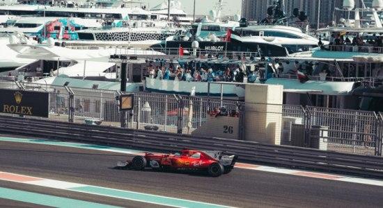 Formula 1 Abu Dhabi 2018