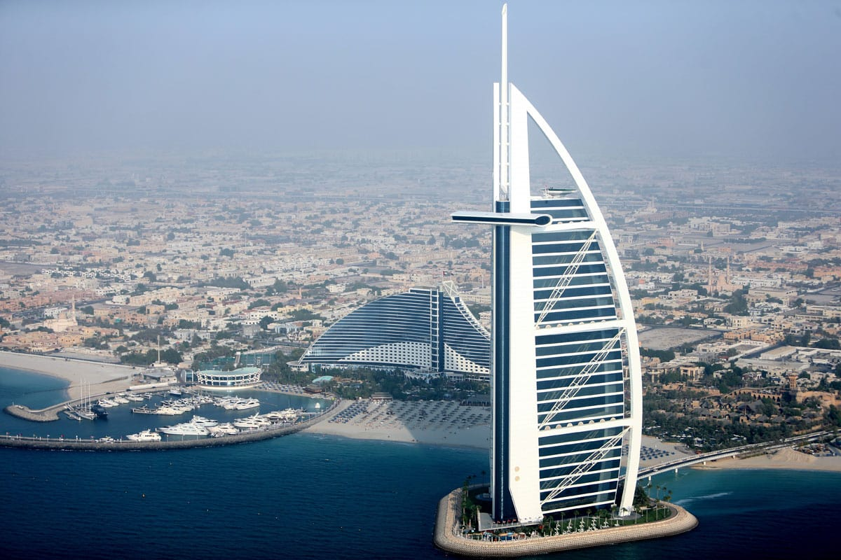 The Burj Al Arab Yacht Destination