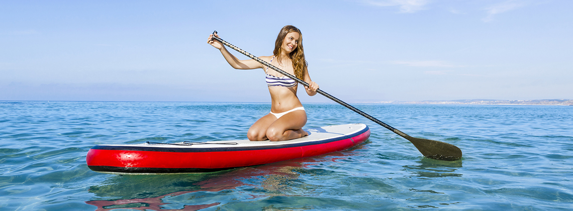 SUP serves best for those travelers who prefer a relaxing and calm sport